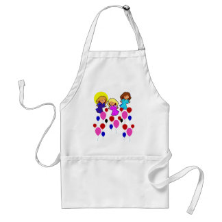 Angels and Balloons Apron