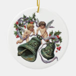 Angels and Bells Christmas Ornament