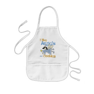 Angels and Cookies Baking Kids' Apron