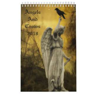Angels And Crows 2018 Calendar