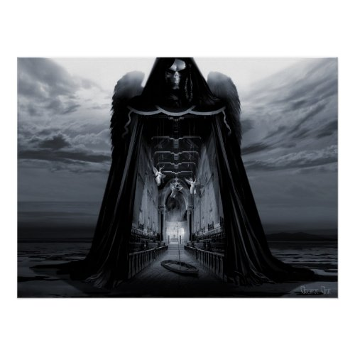 Angels and Demons: Angel of Mercy print
