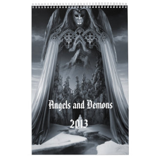 """Angels and Demons"" wall calendar 2013"