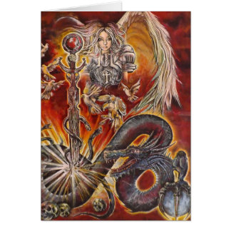 Angels and Dragons Card