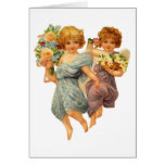 Angels and Flowers Cards