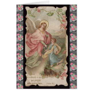 Angels Angeles greeting card