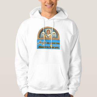 ANGELS ARE NEVER TOO FAR HOODIE