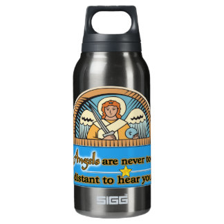 ANGELS ARE NEVER TOO FAR INSULATED WATER BOTTLE