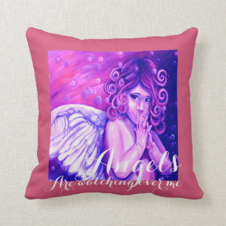 Angels are Watching Over me Pillow