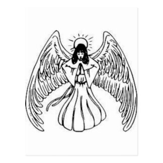 Angels are watching products postcard