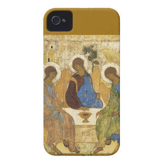Angels At Mamre Trinity iPhone 4 Case-Mate Case
