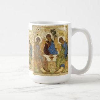 Angels At Mamre Trinity Basic White Mug