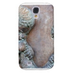 Angels blowing trumpets copper aged relief samsung galaxy s4 case