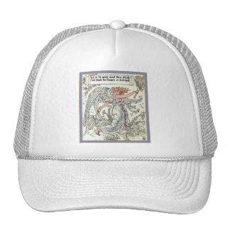 Angel's Breeze ~ Vintage Art Nouveau Cap
