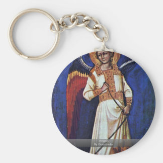 Angels By Guariento Basic Round Button Keychain