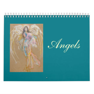 Angels Calendar: Uncropped Pastel Drawings Calendar