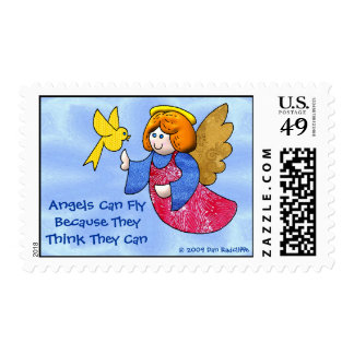 Angels Can Fly Postage