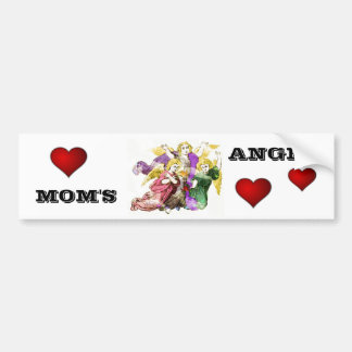 Angels Car Bumper Sticker