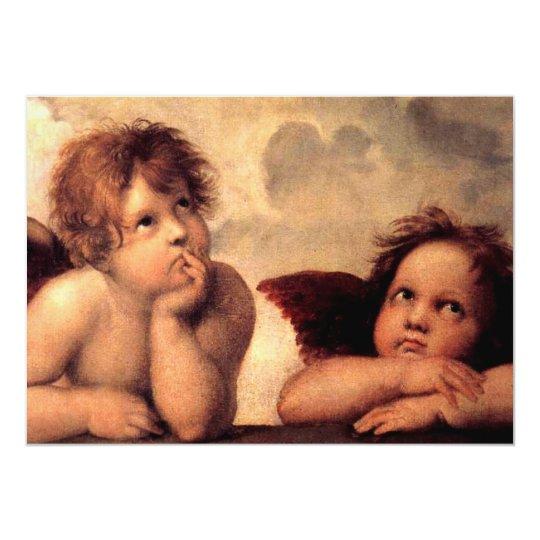 Angels Cherubs Card