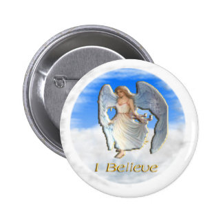 Angels Christian items Button