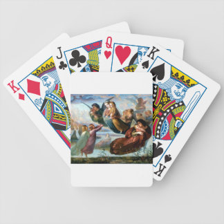 Angels Christianity Religion Painting Card Deck