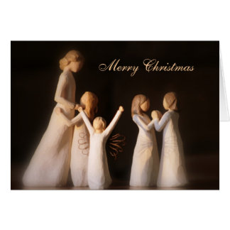 Angels Christmas Card