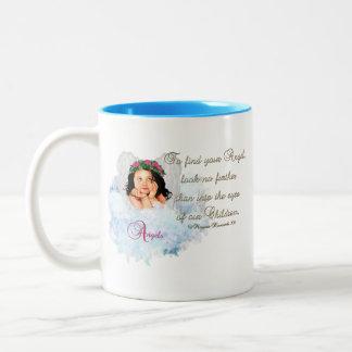 Angels Coffee Mug.. Look no further.. Two-Tone Coffee Mug