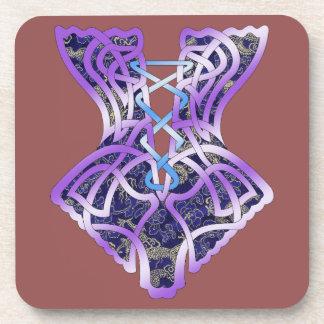 Angel's Corset Beverage Coaster