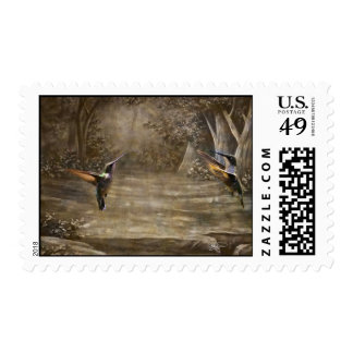 Angels Dancing for the Lord Postage Stamp Stamps