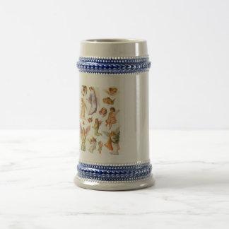 Angels design stein Mug
