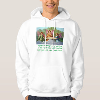 Angels encourage mens shirt. pullover