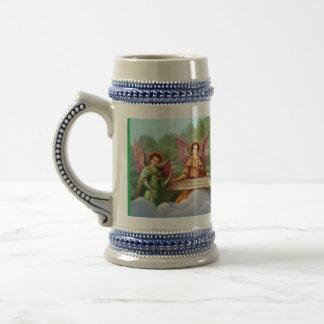 Angels encourage travel mug