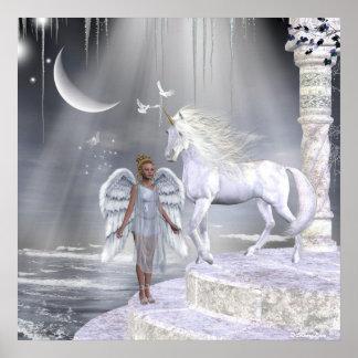Angels Fae Unicorns Print