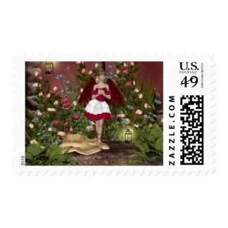 Angels Fairy Postage Stamp