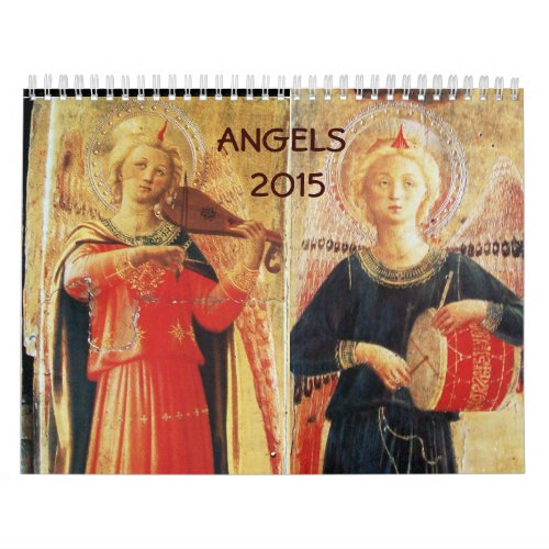 ANGELS  FINE ART COLLECTION   2015 CALENDAR