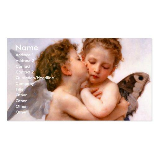 Angels First Kiss, Bouguereau Business Card Templates