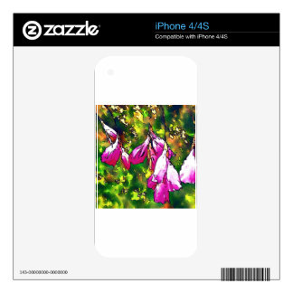 Angels Fishing Rods Decal For The iPhone 4