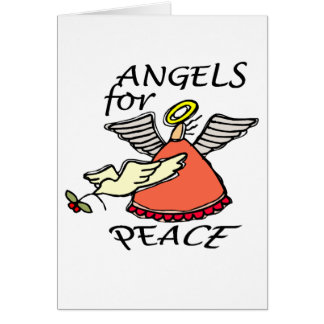 ANGELS FOR PEACE GREETING CARD