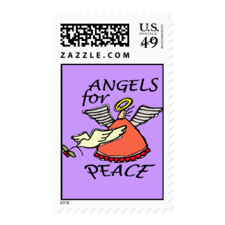 ANGELS FOR PEACE POSTAGE STAMPS