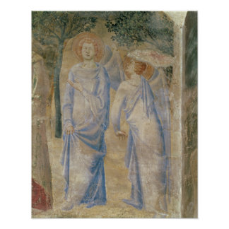 Angels from the Chapel of St. Jean, 1347 Poster