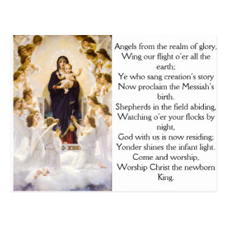 Angels From The Realm of Glory Postcard