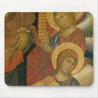 Angels from the Santa Trinita Altarpiece Mouse Pad