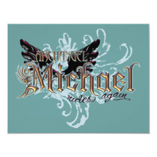 Angels Galore! 4.25x5.5 Paper Invitation Card