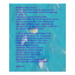 Angels Go Through Heaven Poem Poster