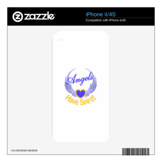 Angels Have Spirit iPhone 4S Decal
