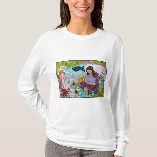Angels Having A Cup Of Tea. T-Shirt