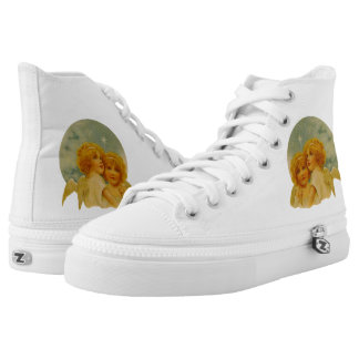 Angels High Top Shoes - Printed Shoes