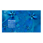 Angels in Blue Flower Dresses Double-Sided Standard Business Cards (Pack Of 100)