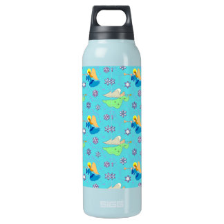 Angels in Blue – Snowflakes & Trumpets SIGG Thermo 0.5L Insulated Bottle