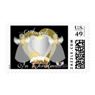 Angels In Christmas! Postage-Customize Postage