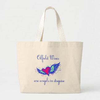 Angels in Disguise Jumbo Tote Bag